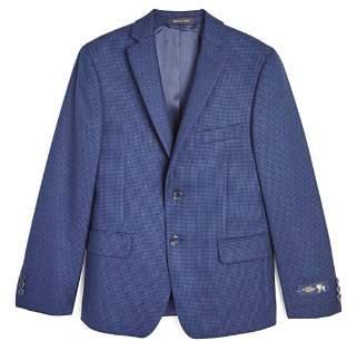 Hart Schaffner Marx Boys' Check-Print Wool Sport Coat - Big Kid