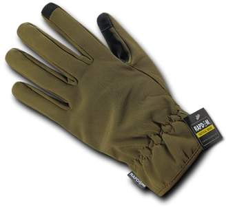 RAPDOM Tactical Soft Shell Winter Gloves, Coyote, M