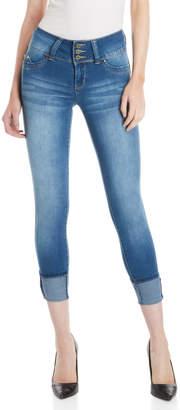 YMI Jeanswear Mid-Rise Wanna Betta Butt Skinny Jeans