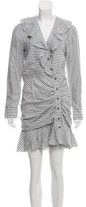 Veronica Beard Striped Long Sleeve Dress w/ Tags