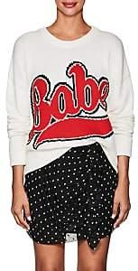 "Philosophy di Lorenzo Serafini Women's ""Babe"" Cotton Sweater - Cream"