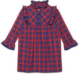 Children's check flannel dress $490 thestylecure.com