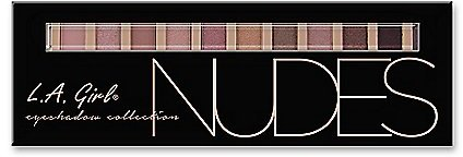 L.A. Girl Beauty Brick Nudes Eyeshadow Collection