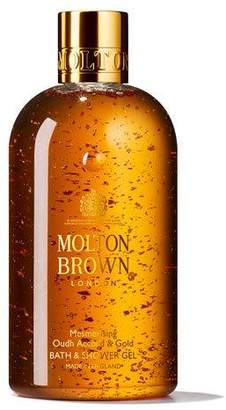 Molton Brown Mesmerizing Oudh Accord & Gold Bath & Shower Gel, 10 oz./ 300 mL