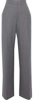 Stella McCartney Wool-Blend Twill Wide-Leg Pants