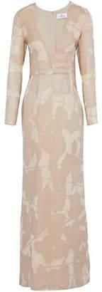 J. Mendel J.mendel Appliquéd Metallic Silk Gown