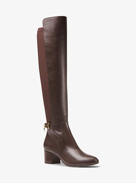 Michael Kors Aileen Leather Boot