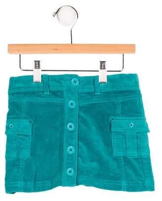 Boboli Girls' Corduroy Button-Up Skirt