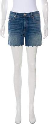 Mother The Sinner Short Fray Mid-Rise Shorts w/ Tags