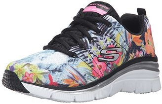 Skechers Sport Women's Fashion Fit Sneaker $70 thestylecure.com