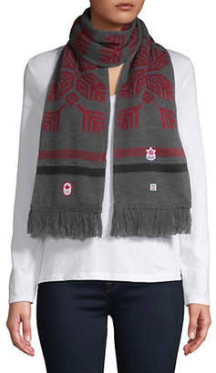 FLAKE CANADIAN OLYMPIC TEAM COLLECTION Snow Graphic Scarf