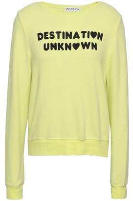 Wildfox Couture Printed Jersey Sweatshirt