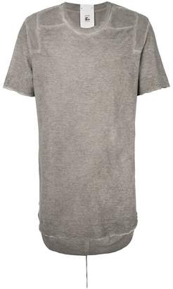 Lost & Found Rooms curved hem T-shirt