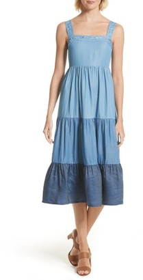 Women's Kate Spade New York Chambray Patio Dress $298 thestylecure.com