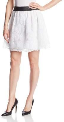 Kensie Women's Sunflowers Skirt
