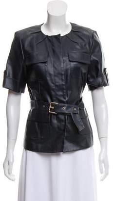 Michael Kors Short Sleeve Casual Jacket