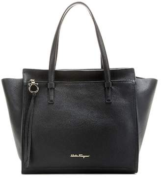 Salvatore Ferragamo Large Amy leather tote