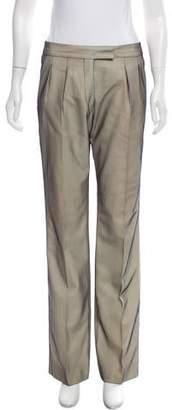 Veronique Branquinho Mid-Rise Straight Leg Pants