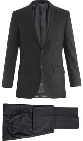 Zegna Milano 2 shadow stripe suit