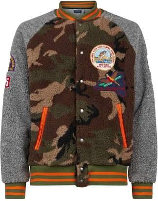 Polo Ralph Lauren Patch Fleece Bomber Jacket