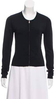 Jason Wu Long Sleeve Zip-Up Cardigan
