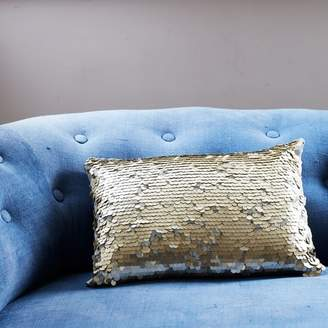 Graham and Green Gold Sequin Cushion