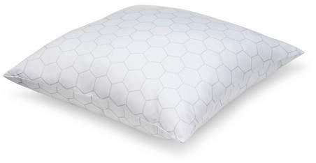 Won't Go Flat Bed Pillow (Euro) White