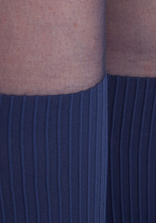Color Your Chic Tights in Midnight