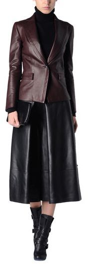 Yang Li Leather pants