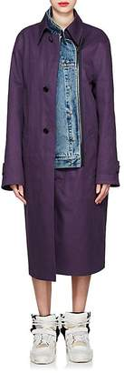 Maison Margiela Women's Reversible Twill & Denim Coat