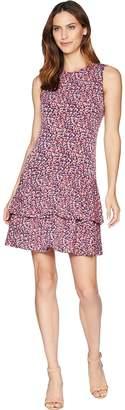 MICHAEL Michael Kors Wildflower Sleeveless Flounce Dress Women's Dress