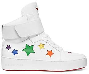 MICHAEL Michael Kors Women's Trent High-Top Star Sneakers