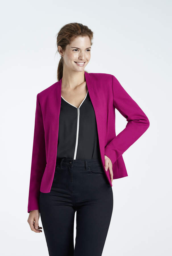 Long Tall Sally Textured Weave Suit Jacket