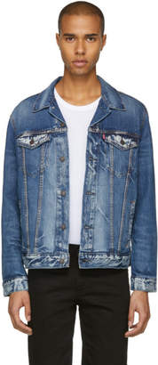 Levi's Levis Blue Denim Danica Trucker Jacket