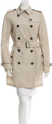 Burberry Brit Belted Trench Coat $325 thestylecure.com