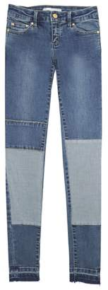 Tractr Patchwork Skinny Jeans