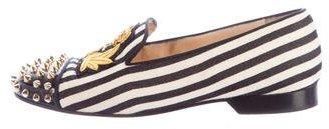 Christian Louboutin Christian Louboutin Intern Stud-Embellished Loafers