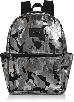 STATE Williams Medium Metallic Camo Backpack