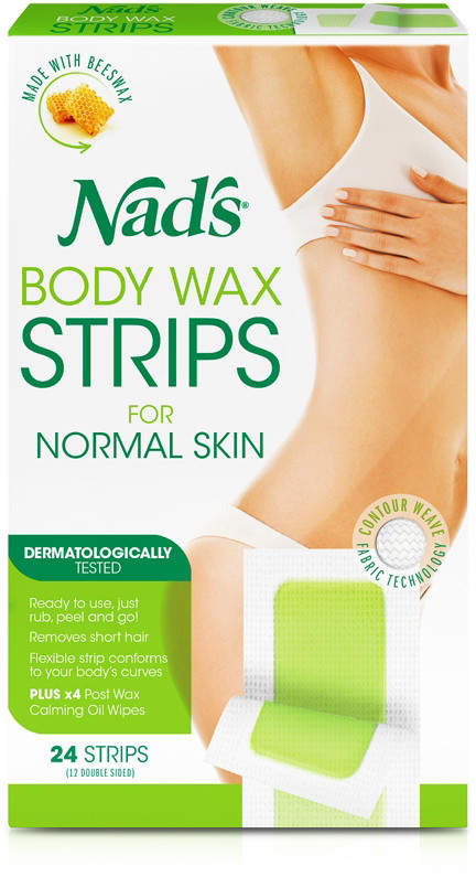 Nads Natural Large Hair Removal Strips