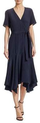 A.L.C. Cora Silk Wrap Dress