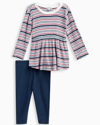 Splendid Baby Girl Rib Stripe Sweater Set
