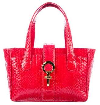 Hayward Python Handle Bag