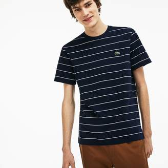 Lacoste Men's Striped Cotton T-Shirt