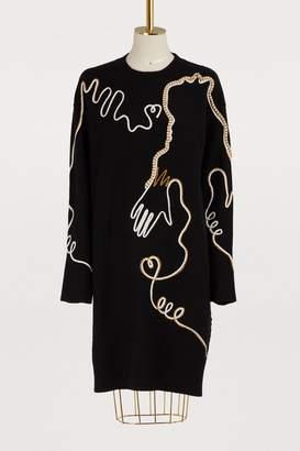 Vivetta Jongkind long-sleeved dress