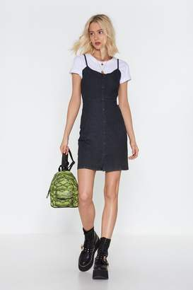 Nasty Gal Beautiful Day Denim Mini Dress