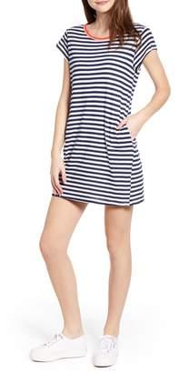 Splendid Seaside Stripe T-Shirt Dress
