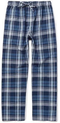 Derek Rose Ranga Checked Cotton Pyjama Trousers