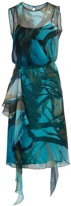 Max Mara Zolfo silk dress