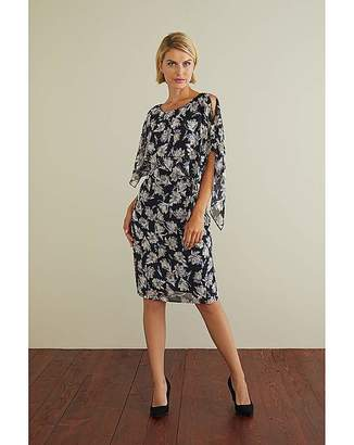 Gina Bacconi Marisol Dress And Cape