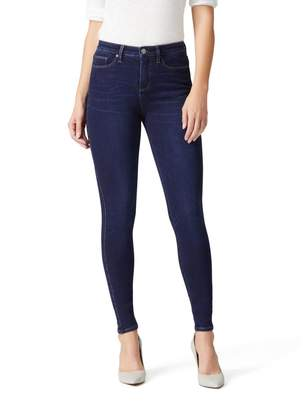 Jeanswest Luxe Lounge 360 High Waisted Skinny Jean-Dark Fusion-6